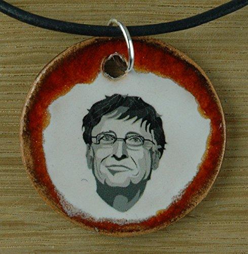 günstig Real Craft: Bill Gates süßer Keramikanhänger.  Microsoft, der reichste Mann… Vergleich im Deutschland
