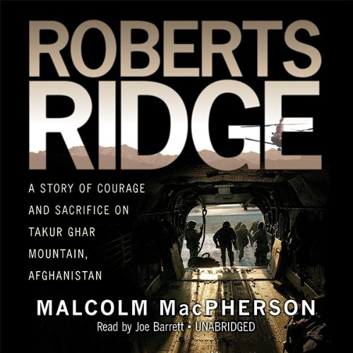 Roberts Ridge audiobook cover art