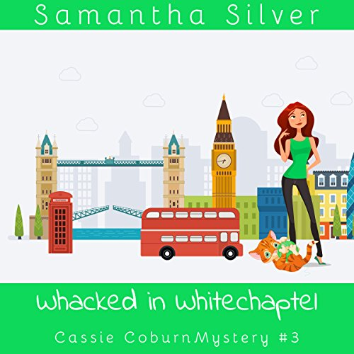 Whacked in Whitechapel audiobook cover art