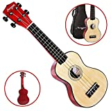 Martin Smith Soprano Ukulele in Legno Naturale Bag Ukulele