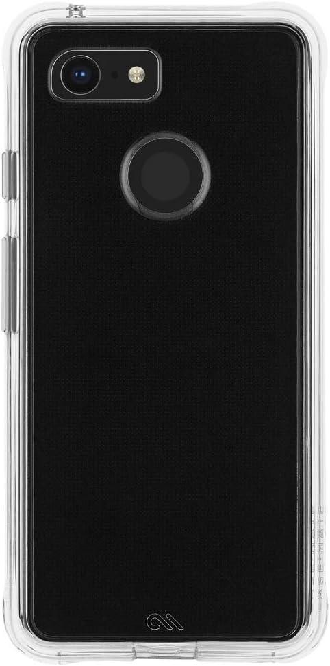 Case-Mate - Google Pixel 3 Case - TOUGH - Clear
