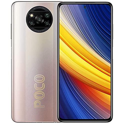 POCO, LLC Poco X3 Pro   128GB 6GB RAM   Factory Unlocked (GSM ONLY   Not Compatible with VerizonSprintBoost)   International Version (Metal Bronze)