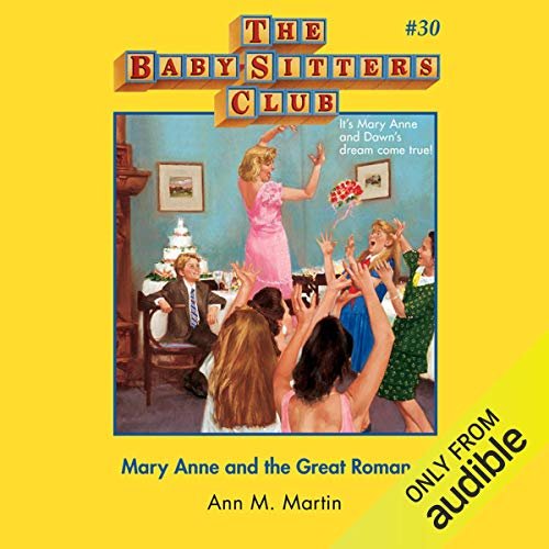 Mary Anne and the Great Romance                   De :                                                                                                                                 Ann M. Martin                               Lu par :                                                                                                                                 Emily Bauer                      Durée : 3 h et 11 min     Pas de notations     Global 0,0