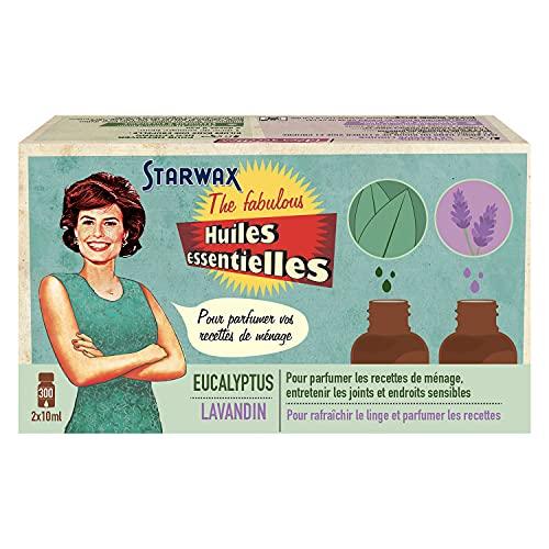 Huiles essentielles Lavandin 10 ml et Eucalyptus 10 ml Starwax The Fabulous