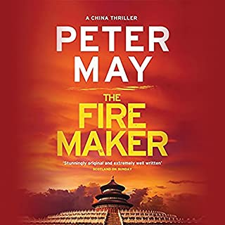 The Firemaker audiobook cover art
