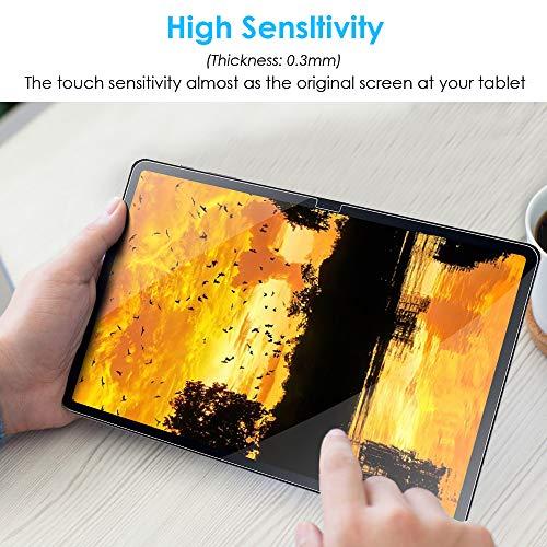 KATUMO [2 Stück] Displayfolie Samsung Galaxy Tab S7+ 12.4 Zoll Panzerglas Folie für Tab S7 Plus Displayschutzfolie 9H Härte Glas für SM-T970/T975