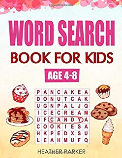 Word Search Book For Kids Age 4-8