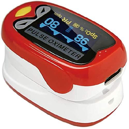 Oximeter, Vingertop De Vingertop Pulsoximeter Oplaadbare, Door Monitoring Van De Hartfrequentie Van De Baby-En Children's Vingertop Bloed Zuurstof Saturatie