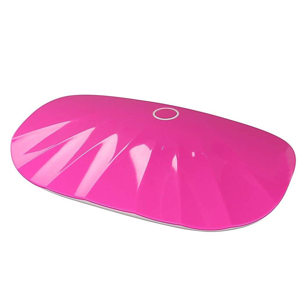 聴覚試す追放するJilebao ネイルライト 6W ハイパワー USBライン付き ミニ 可愛い ジェルネイル レジンクラフト コンパクト LEDライト UVライト ネイルドライヤー 自動検知モード 折りたたみ式 手足とも使える (マルチカラー)