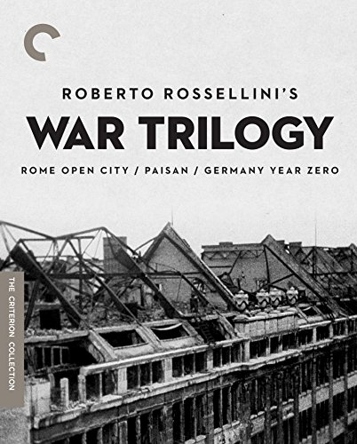 Roberto Rossellini's War Trilogy (Rome Open City, Paisan, Germany Year Zero) (The Criterion Collection) [Blu-ray]