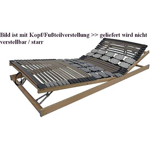 Belaro Duo System Lattenrost NV - Lattenrost mit Leisten + Teller, starr 90x200 cm