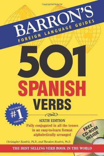 Barron's 501 Spanish Verbs