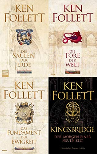 Die Grosse Ken Follett Trilogie - Kingsbridge-Roman + 1 exklusives Postkartenset