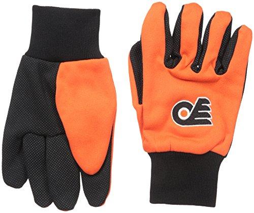 NHL Boston Bruins Handschuhe, zweifarbig, Unisex, GLVWKNH15PF, Schwarz , Einheitsgröße