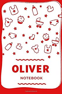 "Oliver Notebook: Oliver means ""olive tree"" and it is a Latin name, Personalized Name Journal, 110 Pages Lined College Rule..."