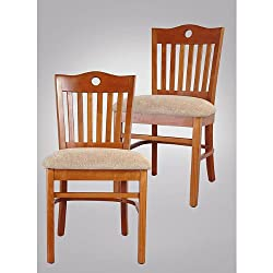 Swiss Side Chairs in Cherry Side Chair for Kitchen and Dining