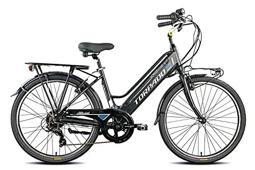 Torpado Venus T260 26'' 7v Bafang 468Wh Nero 2022 - bici elettrica