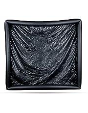 EasyToys Online Only - Lámina con bordes hinchables, negra
