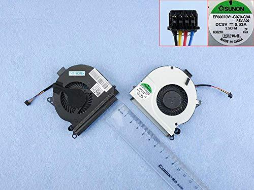 Kompatibel für Dell Latitude E6230, E 6230 Lüfter Kühler Fan Cooler