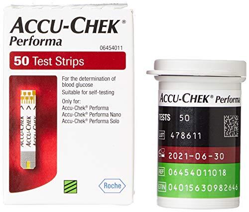 Accu-Check Performa Tablet Tiras (50Unidades)