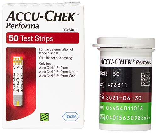 Accu-Check Performa Tablet Tiras (50 Unidades)