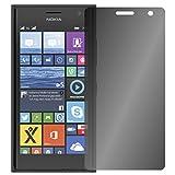 Slabo Blickschutzfolie kompatibel mit Nokia Lumia 730   735 Sichtschutz Bildschirmschutzfolie View Protection Privacy Filter - Schwarz