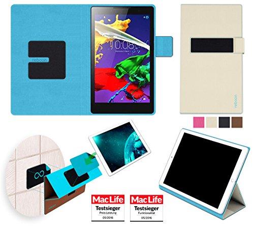 Hülle für Lenovo Tab 2 A8-50 Tasche Cover Hülle Bumper | in Beige | Testsieger