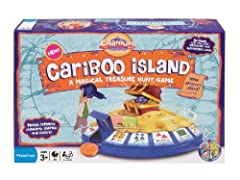 Cranium Cariboo is the magical treasure hunt game designed especially for young children. Kids love exploring the golden island of Cariboo, searching for coins to help them unlock the treasure chest. Cariboo reinforces four early-learning fundamental...