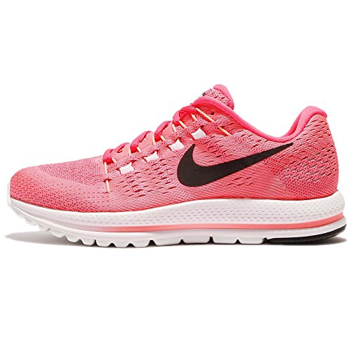 Nike Women's Wmns Air Zoom Vomero 12, LAVA GLOW/BLACK-RACER PINK, 7.5 US