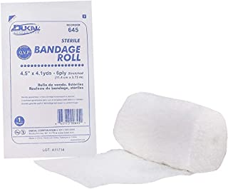 "DUKAL 645 Fluff Bandage Roll, 4.5"" x 4.1 yds, 6-ply, Sterile"