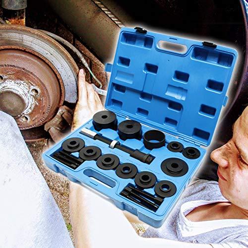 Radlager Radnabe Werkzeug 19 teiliger Satz zur Montage und Demontage