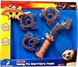 Kung Fu Panda 2 Exclusive Accessory Playset Kung Fu Warriors Pack by Mattel