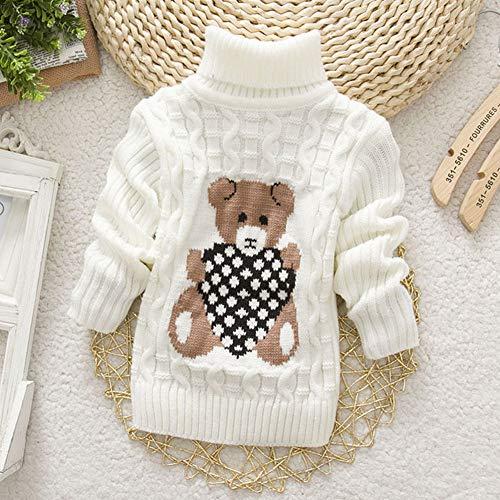 ETbotu Jongens Meisjes kleding, geschenken - Baby Peuter Meisjes Jongens Warm Coltrui Gebreide Trui Pullover Bovenkleding