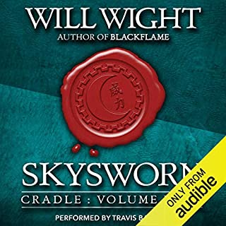 Page de couverture de Skysworn