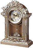 YEESEU Reloj de Mesa Familia Relojes Silencio Mantel Reloj Antiguo, de Noche Retro Escritorio Estante Reloj Decorado Dormitorio Adecuado for Vivir Oficina de la habitación Dormitorio (Tamaño, 16'/ 40