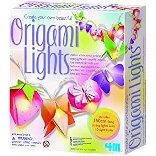 4M Create Your Own Beautiful  Origami Lights:Maskedking