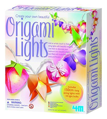 4M Set zum Herstellen eigener Origami-Lampen