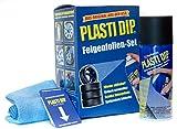 Performix Plasti Dip Felgenfolien-Set 4X 325 ml Schwarz inkl. Mikrofasertuch und Sprühkarten -...