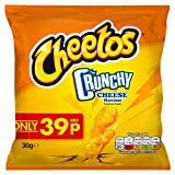 Cheetos Crunchy Cheese Flavoured Corn Snacks 30 g (Pack of...