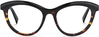 Zeelool Women's Oversized Browline Cat Eye Glasses Frame with Clear Lens Sean FP0124