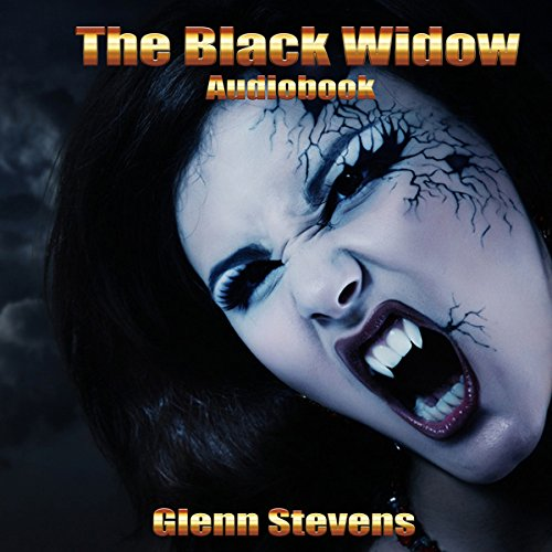 The Black Widow audiobook cover art