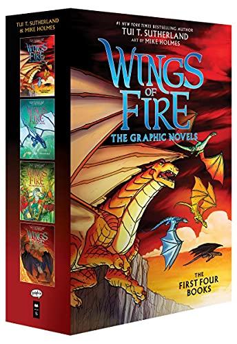 Wings of Fire Graphix Box Set (Books 1-4)