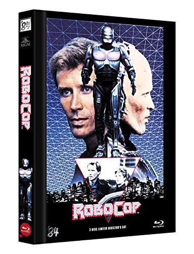 RoboCop 1 - 2-Disc Limited Director's Cut - Mediabook, Cover C (+ DVD) [Blu-ray]