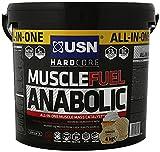 USN Muscle Fuel Anabolic Vanilla Lean Muscle Gain Shake Powder, 4000 g