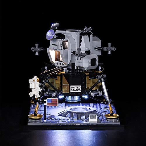 ADMLZQQ LED-Beleuchtungsset für Lego Apollo 11 Lunar Lander, kompatibel mit Lego Star Wars...