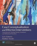 Image of Case Conceptualization and Effective Interventions: Assessing and Treating Mental, Emotional, and Behavioral Disorders (Counseling and Professional Identity)