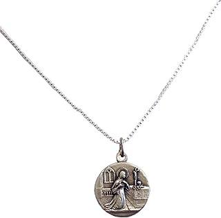 Medaglia di Santa Rita da Cascia con Catena - Le Medaglie dei Santi Patroni