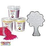 Creative Discount® Schmelzgranulat transparent 200 g PREISHIT