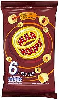 KP Hula Hoops BBQ Beef Snacks 6 Pack