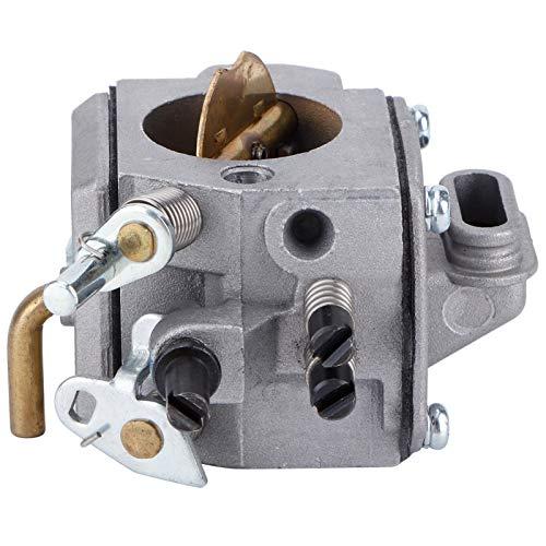 Germerse Carburador de Motosierra, carburador de Aluminio, Estable y Duradero para Motosierra MS440 MS460